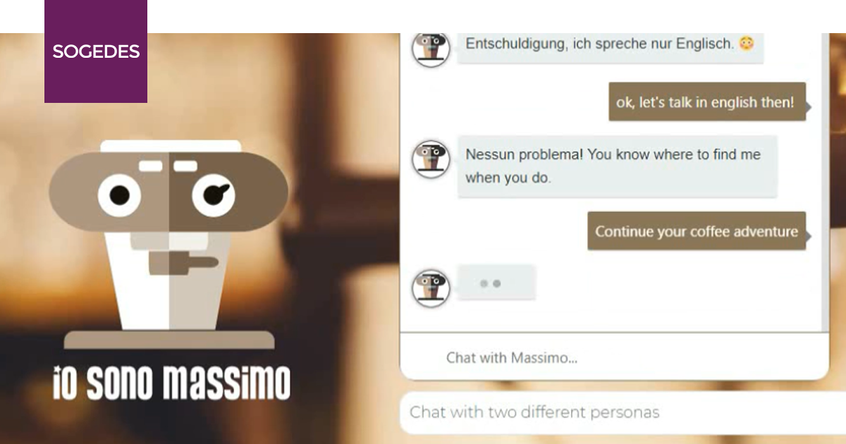 Chatbot Massimo - Conversational Interface 3
